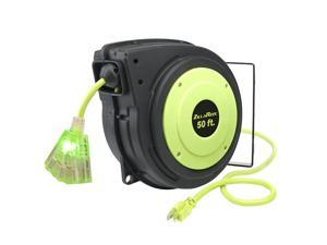 Legacy Manufacturing Flexzilla ZillaReel Electrical Cord Reel (2 Pack)