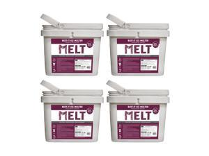 Snow Joe Beet-It Ice Melter with CMA and Beet Extract 25 Pound Bucket (4 Pack)