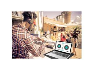Pyle Pro Universal Adjustable Notebook Laptop Computer Studio DJ Mount Stand