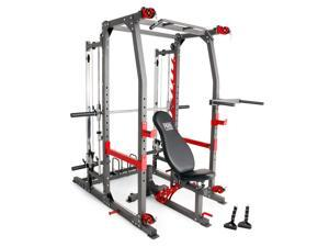 buy online eaf8a 158ed Marcy Pro Smith Machine Weight Bench Home Gym Total ...