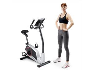 Marcy Regenerating Magnetic Upright Home Cardio Fitness Exercise Stationary Bike