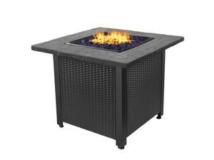 Endless Summer GAD1401GB 30 inch All Weather Outdoor Patio LP Gas Fire Pit Table