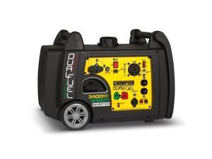 Champion 3400W Portable Electric Start Dual Fuel Inverter Generator