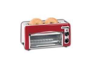 Hamilton Beach 22703H Toastation Toaster & Oven, Red
