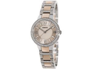 cf784edabc230 Fossil Women s Virginia ES3405 Two-Tone Stainless-Steel Quartz Watch ...