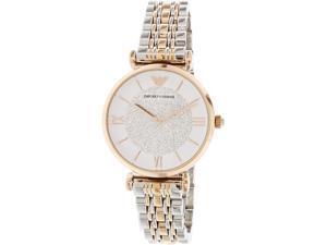 e85c08d55 Emporio Armani Women's Retro AR1926 Rose Gold Stainless-Steel Quartz Watch