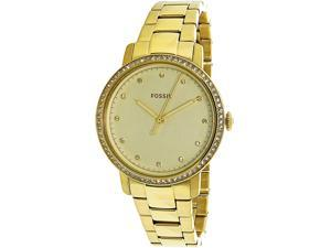 3e11b04d6 Fossil Women's Neely ES4289 Gold Stainless-Steel Quartz Fashion Watch