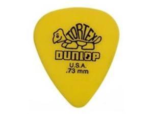 Dunlop Tortex Guitar Picks - .73mm - Yellow - 72 Pack