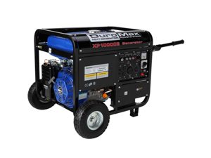 DuroMax 10000 Watt Portable Gas Electric Start Generator for RV, Home, and Camping