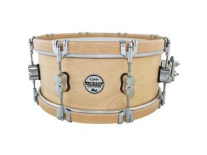 PDP PDSX0614CLWH Limited Maple Classic Wood Hoop Snare - Natural