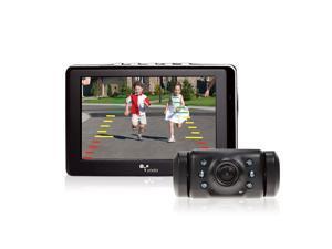 "Yada Digital Wireless Backup Camera with 4.3"" LCD Dash Monitor, Night Vision, Weatherproof Camera"