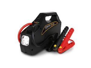 Duracell DRJS10A Jumpstarter 600| 600 AMPs| 12V DC outlet| 2.1A USB port| 4 LED bulbs |6 AWG