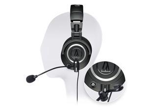 0d74604f555 Audio Technica ATH-M50X Professional Studio Headphone -INCLUDES- Antlion  Audio ModMic 5 Modular