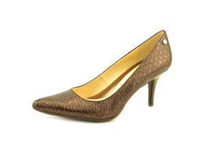 97bcd81fc87 Calvin Klein Ashley Womens Size 7.5 Burgundy Pumps Heels ...