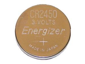 ENERGIZER Lithium 2450/CR2450 ECR2450BP 3V Coin Cell Battery, 1-pack