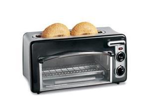 Hamilton Beach 22708 Toastation Toaster & Oven, Black