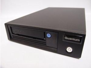 QUANTUM LTO-6 TAPE DRIVE, HALF HEIGHT, TABLETOP, MODEL C, 6GB/S SAS, BLACK
