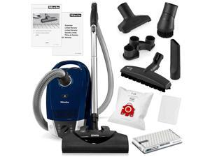 Miele Compact C2 Electro+ HEPA Canister Vacuum Cleaner + SEB228 Powerhead + SBB-3 Parquet Floor Brush + Crevice Tool + Upholestry Tool + Dusting Brush