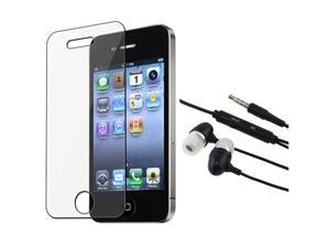 bec2d711f6b6 Hands-free Headphone Earphone Mic compatible with Apple iPhone 4 4G s 4s ...
