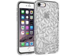 363f7dc0b2a Insten Diamond Textured Design Hard Plastic Soft TPU Rubber Case Cover For Apple  iPhone 6