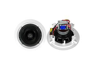 """Pyle PD-IC60T Pyle 6 5"""" 250-watt 2-way in-ceiling speaker - with 70v transformer"""
