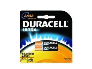 DURACELL Ultra MX2500 1.5V AAAA (MX2500 / E96) Alkaline Battery, 2-pack