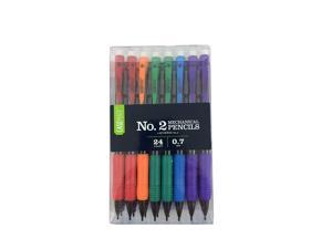 Case-Mate MB153010 Number 2 Mechanical Pencils .07 Medium (24-Pack)
