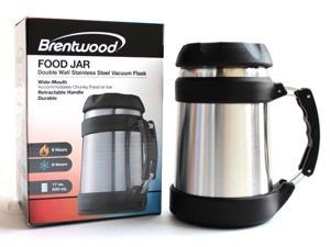 Brentwood FTS-505S Stainless Steel 0.5 Liter Double Wall Food Jar