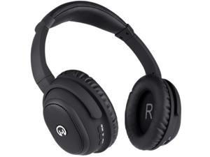 HyperGear 13952 Stealth HD Bluetooth Noise-Canceling Headphones with Microphone, Black