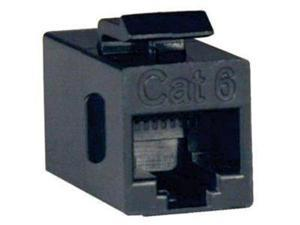 Tripp Lite Cat6a Straight-Through Modular In-Line Snap-In Coupler (RJ45 F/F)