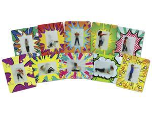 Roylco Action Exercise Cards Theme/Subject: Learning - Skill Learning: Exercise - 10 Pieces - 4+