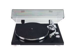 Teac TN-400SB Gloss Black 3-Speed Belt Drive Turntable w/ Built-in Phono Amp