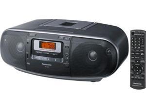 Panasonic RXD55GCK Boombox 110-220v Cd Amfm Cass