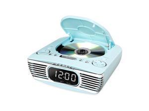 Innovative Technology INN-V50-250-TRQ Bluetooth Bedside Stereo, Cd, Fm, Teal
