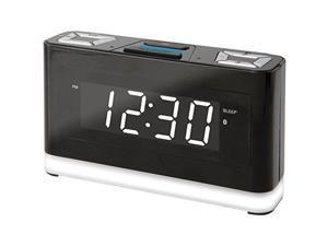 Ilive Platinum Icwfv428b Bluetooth[r] Voice-activated Clock With Amazon[r] Alexa[tm] Compatibility