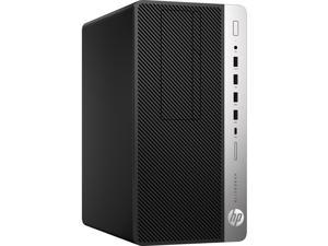 HP EliteDesk 705 G4 4HY45UT#ABA Desktop Computer - AMD A10-Series PRO A10-9700 3.50 GHz - 8 GB DDR4 Memory - 500 GB HDD - DVD-Writer - Windows 10 Pro 64-bit (English) - Micro Tower