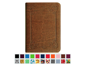 Fintie Folio Case for Kindle Paperwhite - The Book Style PU Leather Cover Auto Sleep/Wake for All-New Amazon Kindle Paperwhite (Fits All versions: 2012 2013 2014 and 2015 New), Vintage Antique Bronze