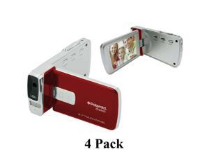 "4 Pack Polaroid ID1440 14MP 4x Zoom HD 1080p Camcorder with 2.7"" LCD Screen"