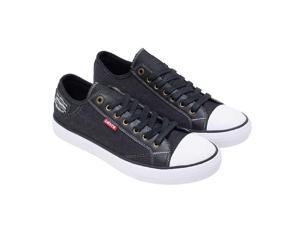 702fcace7a2509 Levi s Men s Stan Buck C Black Canvas Slip On Sneakers ...