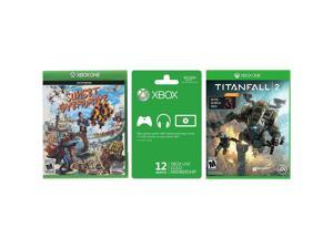XBOX One Titanfall 2 & Sunset Overdrive Games w/ Xbox LIVE 12 Month Gold Bundle