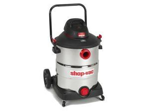 Shop-Vac 5989700 Shop-Vac 16 Gal. 6.5 Peak HP SVX2 Stainless Steel Wet / Dry Vacuum With Transport Handle and Rear Wheels