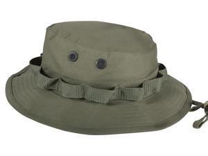 7503ee51cf6 Olive Drab Military Wide Brim Boonie Hat