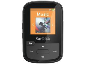 SANDISK SDMX28-016G-A46K Clip Sport Plus MP3 Player with Bluetooth(R) (Black)