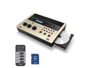 Roland CD-2U SD/CD Recorder Portable CD Production Station with Stereo Mic