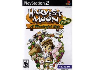 Playstation 2 Harvest Moon: A Wonderful Life -Special Edition- PS2