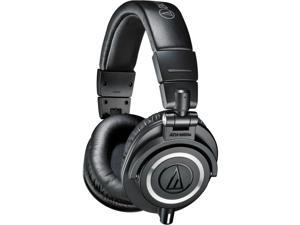 Audio-Technica ATH-M50x Headphones + Headphone Hanger + SL-HP-07 Headphone Case