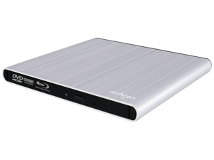 Archgon USB 3.0 Style Ultra Slim Blu-ray Burner (MD-8107-U3YC-BW) Compatible with MAC/Windows (Additional USB Type C cable included.)
