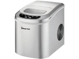 MAGIC CHEF MCIM22SV 27lb Portable Ice Maker, Silver