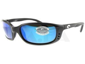 be760e5de2 Costa Del Mar Brine Gunmetal Polarized Blue Mirror 580G Glass Lenses  Sunglasses