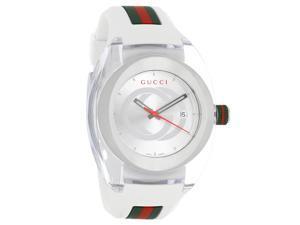 249fad6aa0c Gucci Sync XXL White Rubber Unisex Watch YA137102